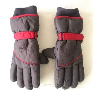 3M Thinsulate Men's Winter Gloves. L/XL Gray